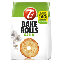 7 Days Bake rolls czosnek (160 g)