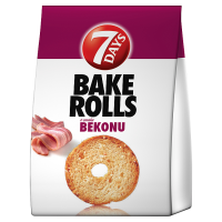 7 Days Bake rolls bacon