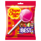 Chupa Chups The Best of Cola Milky Fruit Lizaki wielosmakowe 10szt