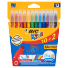 Bic Kids Kid Couleur Kolorowe flamastry zmywalne