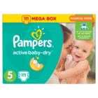 Pampers Active Baby-Dry rozmiar 5 Junior waga 11kg-18kg