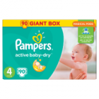 Pampers Active Baby-Dry rozmiar 4 Maxi waga 8kg-14kg