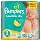 Pampers New Baby-Dry Pieluchy 2 Mini waga 3kg-6kg