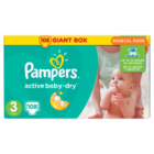 Pampers Active Baby-Dry rozmiar 3 Midi waga 5kg-9kg